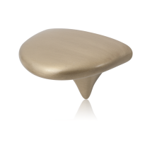 2027 satinmessing meubelknop