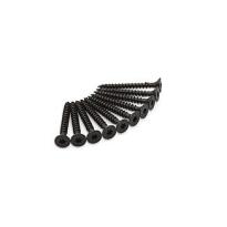 Dulimex schroef tbv scharnieren, zwart torx, 4,5x40 mm, set à 10 stuks