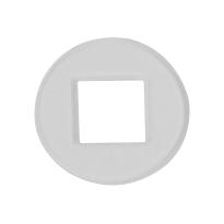 Krukring transparant 18,3 mm t.b.v. deurkrukken van GPF Bouwbeslag