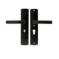 AXA 6665 All Black VH garnituur kruk/kruk met kerntrekbeveiliging, PC55
