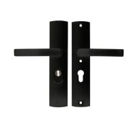 AXA 6665 All Black VH garnituur kruk/kruk met kerntrekbeveiliging, PC72