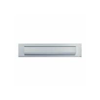AXA briefplaat F1 aluminium naturel 67x325 mm