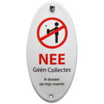 BB-06 emaille anti-verkopersbord