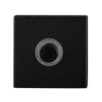 Beldrukker GPF8826.02 zwart vierkant 50x50x8 mm