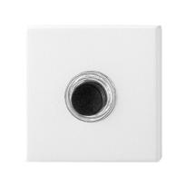 Beldrukker GPF8826.42 vierkant 50x50x8 mm wit