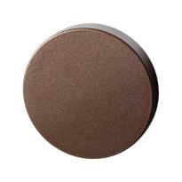 Blinde rozet GPF1100.A2.0900 50x8 mm Bronze blend