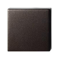 Blinde rozet GPF1102.A1.0900 50x50x8 mm Dark blend