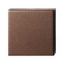 Blinde rozet GPF1102.A2.0900 50x50x8 mm Bronze blend