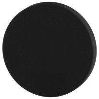 Blinde rozet GPF8900VZ 53x6mm zwart