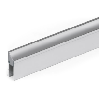 Cassette/houderprofiel voor valdorpel 1000 mm, aluminium