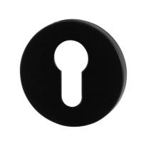 Cilinderrozet GPF6902VZ 53x6mm zwart egaal