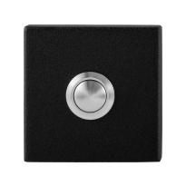 Deurbel GPF8827.02 vierkant 50x50x8 mm zwart