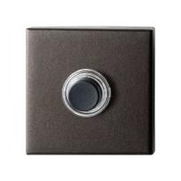 Deurbel GPF9826.A1.1102 Dark blend vierkant 50x50x8 mm
