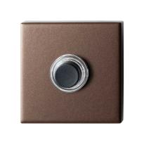 Deurbel GPF9826.A2.1102 bronze blend vierkant 50x50x8 mm