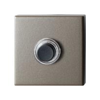 Deurbel GPF9826.A3.1102 Mocca blend vierkant 50x50x8 mm