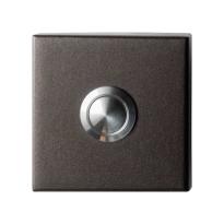 Deurbel GPF9827.A1.1102 Dark blend vierkant 50x50x8 mm