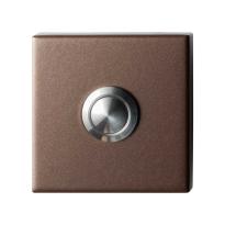 Deurbel GPF9827.A2.1102 Bronze blend vierkant 50x50x8 mm