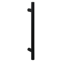 Deurgreep T-model GPF16 zwart