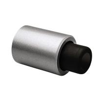 Deurstopper wandmodel Robusto zilvergrijs, 110x60 mm