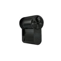 DOM Sigma Plus profielcilinder SKG***, halve cilinder zwart