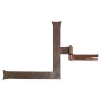 Duimheng roest 40x300x300 mm rechts