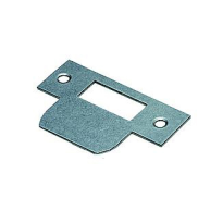 Dulimex sluitplaat loop, rechthoekig staal links/ rechts