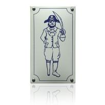 Emaille pictogram 'Herentoilet' rechthoekig