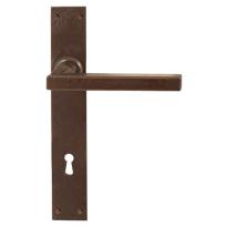 FM363 M deurkruk op schild geveerd