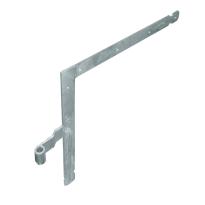 Garagedeurheng LB/RO EV verzinkt voor pen Ø16 mm, 500x500 mm