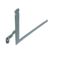 Garagedeurheng LO/RB EV verzinkt voor pen Ø16 mm, 500x500 mm