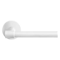 GPF deurklink op ronde rozet, Hipi Deux, paar, wit