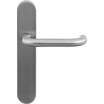 GPF1006.20 Hoa deurkruk op langschild
