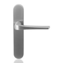 GPF2065.20 Tiki deurkruk op langschild