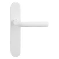 GPF8202.60 Aka deurkruk op langschild wit