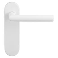 GPF8212.50 Toi deurkruk op kortschild wit