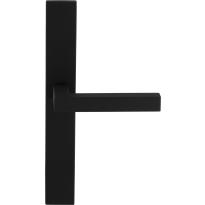 GPF8216.75 Zaki+ deurkruk op langschild zwart XL