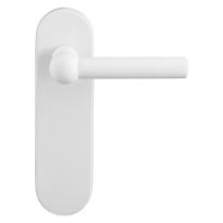 GPF8237.50 Hipi deurkruk op kortschild wit