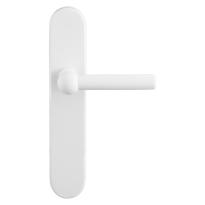 GPF8237.60 Hipi deurkruk op langschild wit