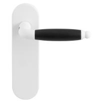 GPF8262.50 Ika deurkruk op kortschild wit