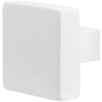 GPF8950.62 Wit vierkante knop 60x60x16m