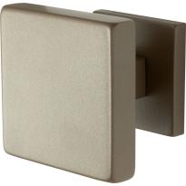 GPF9825.A3 vierkante voordeurknop op rozet Mocca blend 70x70 mm