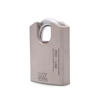 Hangslot DX 72 mm verschillend sluitend, zilver