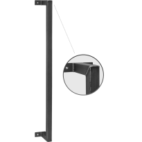 Industriële deurgreep Robust 1000 mm