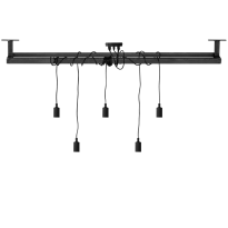 Industriële stalen lamp Patru frame + lamp