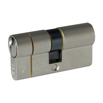 Iseo F6 Extra S veiligheidsprofielcilinder, dubbele cilinder
