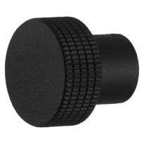 Knop standaard t.b.v. Mauer knopcilinder zwart structuur