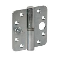 Veiligheids paumelle ronde hoek Ivana veiligheidsuitvoering DIN rechts 89x89 mm