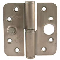Veiligheids paumelle ronde hoek Ivana veiligheidsuitvoering DIN links 89x89 mm