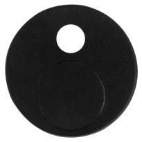 GPF0582.61 anti-jump zwart t.b.v. schuifdeursysteem