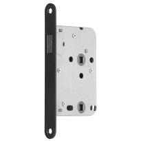 Mauer 1545 bad/wc slot RVS met magneetschoot en zwarte voorplaat